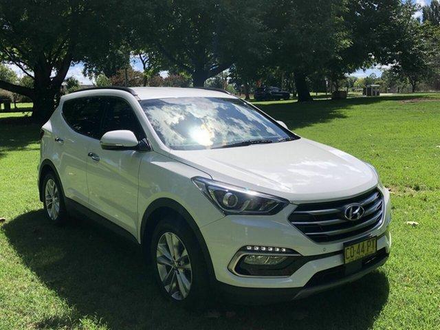 Used Hyundai Santa Fe Elite, Queanbeyan, 2017 Hyundai Santa Fe Elite Wagon