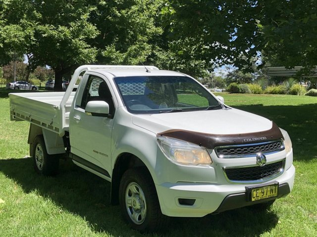 Used Holden Colorado LS, Queanbeyan, 2015 Holden Colorado LS Cab Chassis