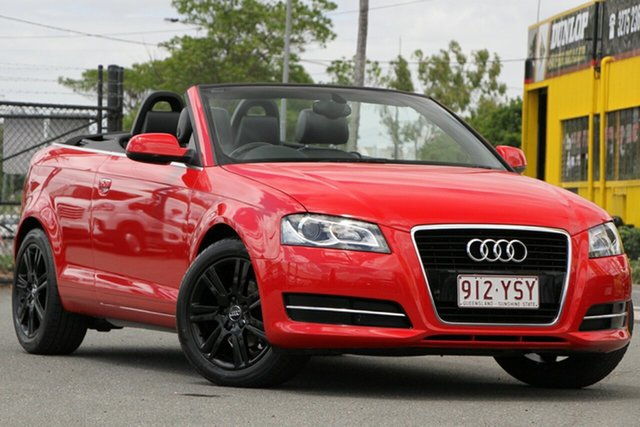 Used Audi A3 Attraction S Tronic, Toowong, 2011 Audi A3 Attraction S Tronic Convertible