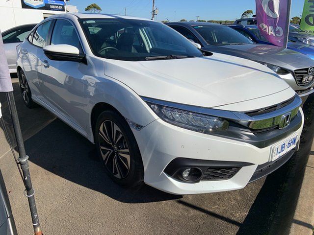 Used Honda Civic VTi-LX, Warrnambool East, 2017 Honda Civic VTi-LX Sedan