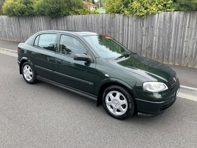 Used Holden Astra CD, North Hobart, 2001 Holden Astra CD Hatchback