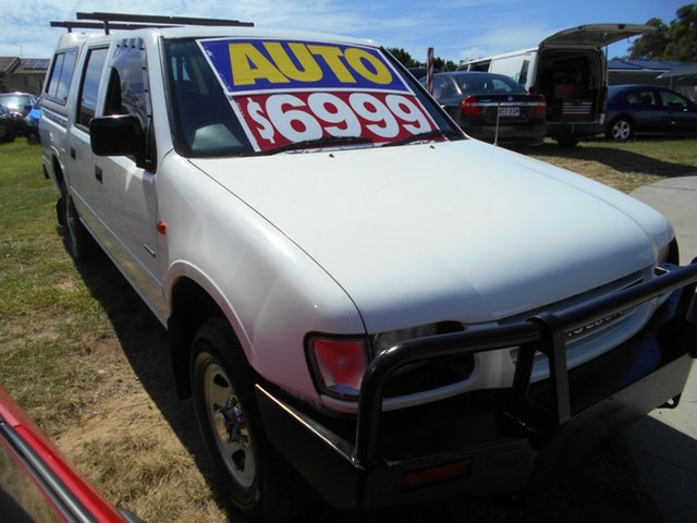 Used Holden Rodeo LT Crew Cab 4x2, Springwood, 1998 Holden Rodeo LT Crew Cab 4x2 Utility