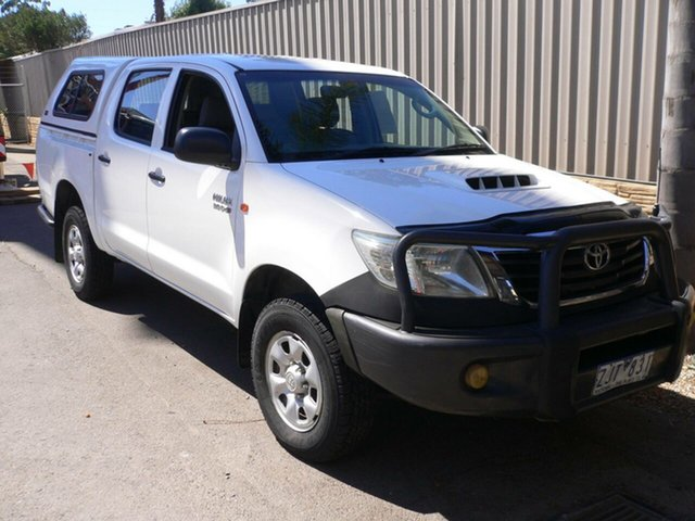 Used Toyota Hilux SR Double Cab, St Marys, 2012 Toyota Hilux SR Double Cab Utility