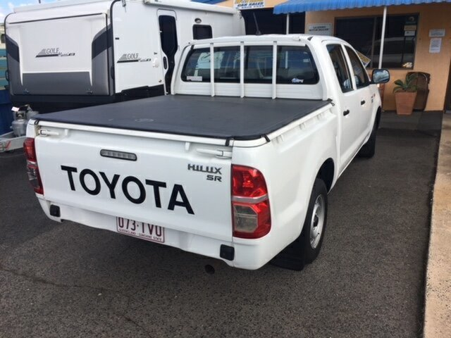 Used Toyota Hilux Workmate, North Rockhampton, 2009 Toyota Hilux Workmate Dual Cab Pick-up