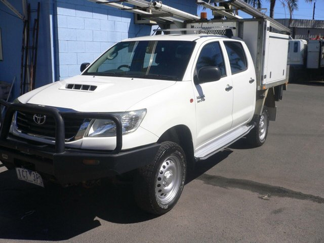 Used Toyota Hilux SR Double Cab, St Marys, 2014 Toyota Hilux SR Double Cab Utility