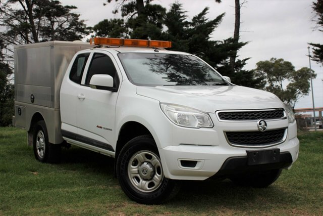 Used Holden Colorado LS Crew Cab, Officer, 2015 Holden Colorado LS Crew Cab Cab Chassis