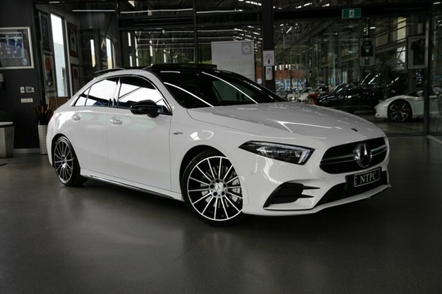 Used Mercedes-Benz A-Class A35 AMG SPEEDSHIFT DCT 4MATIC, North Melbourne, 2020 Mercedes-Benz A-Class A35 AMG SPEEDSHIFT DCT 4MATIC Sedan