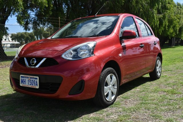 Used Nissan Micra MY 15 ST, Rockingham, 2016 Nissan Micra MY 15 ST Hatchback