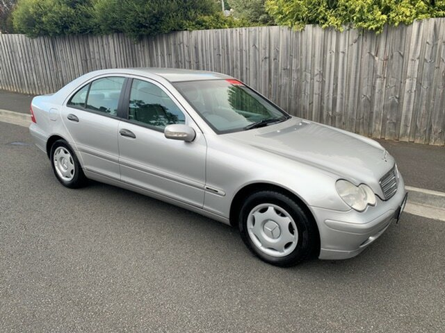 Used Mercedes-Benz C200 Kompressor Classic, North Hobart, 2001 Mercedes-Benz C200 Kompressor Classic Sedan