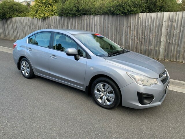 Used Subaru Impreza 2.0I (AWD), North Hobart, 2012 Subaru Impreza 2.0I (AWD) Sedan