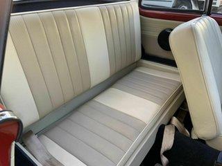 1960 Volkswagen Karmann Ghia Coupe.