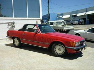 1987 Mercedes-Benz 560 SL Convertible.