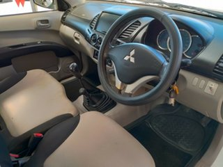 2008 Mitsubishi Triton GLX (4x4) Cab Chassis.