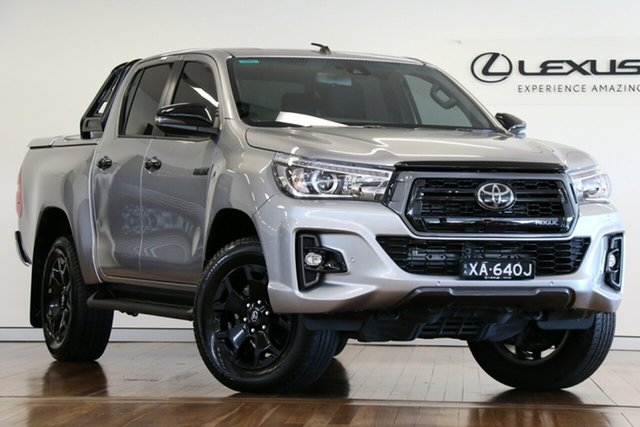 Used Toyota Hilux Rogue Double Cab, Adelaide, 2019 Toyota Hilux Rogue Double Cab Utility