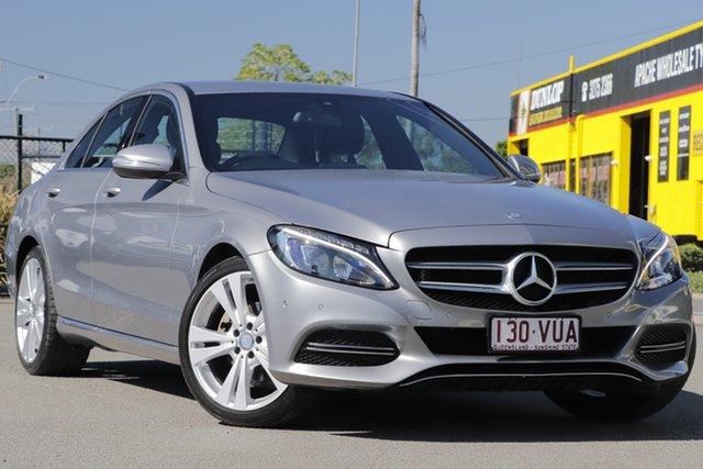 Used Mercedes-Benz C-Class C200 7G-Tronic +, Bowen Hills, 2015 Mercedes-Benz C-Class C200 7G-Tronic + Sedan