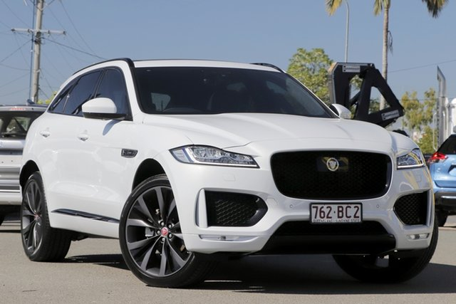 Used Jaguar F-PACE Chequered Flag, Bowen Hills, 2020 Jaguar F-PACE Chequered Flag Wagon