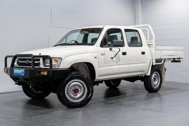 Used Toyota Hilux (4x4), Slacks Creek, 1998 Toyota Hilux (4x4) Dual Cab Pick-up
