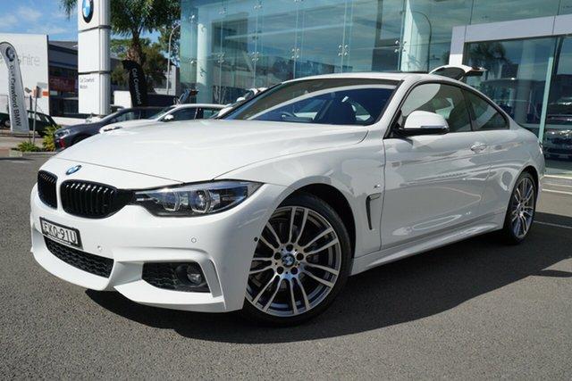 Used BMW 4 Series 430i M Sport, Brookvale, 2019 BMW 4 Series 430i M Sport Coupe