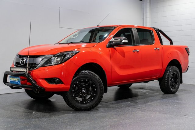 Used Mazda BT-50 GT (4x4), Slacks Creek, 2017 Mazda BT-50 GT (4x4) Dual Cab Utility