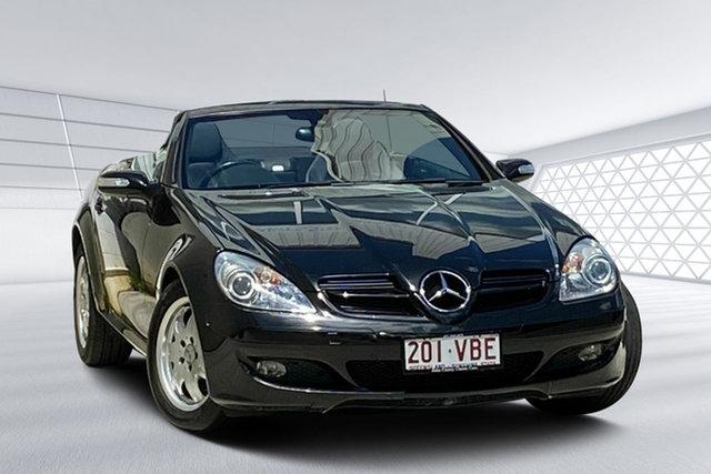 Used Mercedes-Benz SLK200 Kompressor, Moorooka, 2004 Mercedes-Benz SLK200 Kompressor Convertible