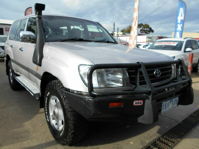 Discounted Used Toyota Landcruiser GXL (4x4), Werribee, 2001 Toyota Landcruiser GXL (4x4) Wagon