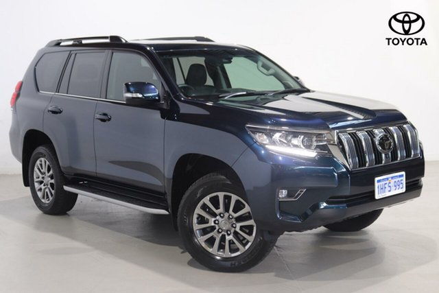 Used Toyota Landcruiser Prado VX, Northbridge, 2019 Toyota Landcruiser Prado VX Wagon
