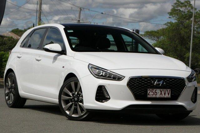 Used Hyundai i30 SR D-CT Premium, Bowen Hills, 2017 Hyundai i30 SR D-CT Premium Hatchback