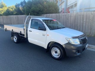 2013 Toyota Hilux Workmate Cab Chassis.