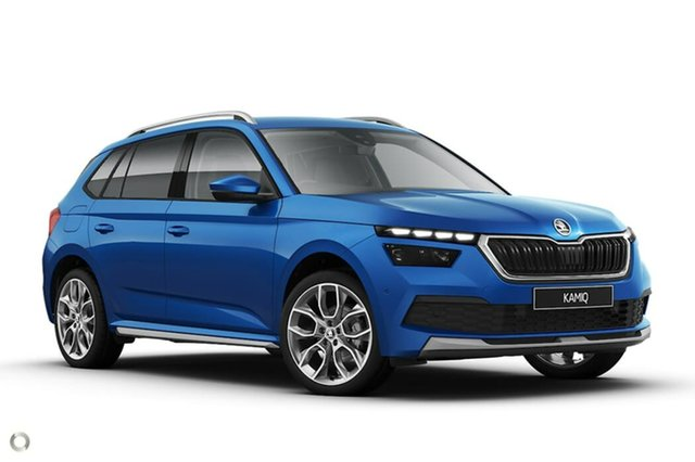 Discounted Demonstrator, Demo, Near New Skoda Kamiq 85TSI DSG FWD, Bowen Hills, 2020 Skoda Kamiq 85TSI DSG FWD Wagon