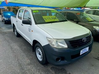 2009 Toyota Hilux Workmate Dual Cab Pick-up.
