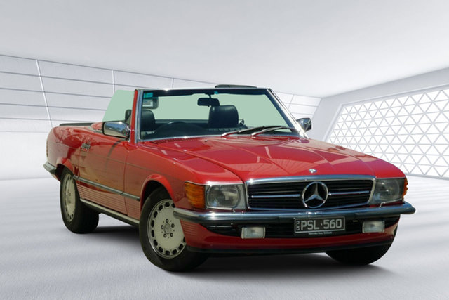 Used Mercedes-Benz 560 SL, Moorooka, 1987 Mercedes-Benz 560 SL Convertible