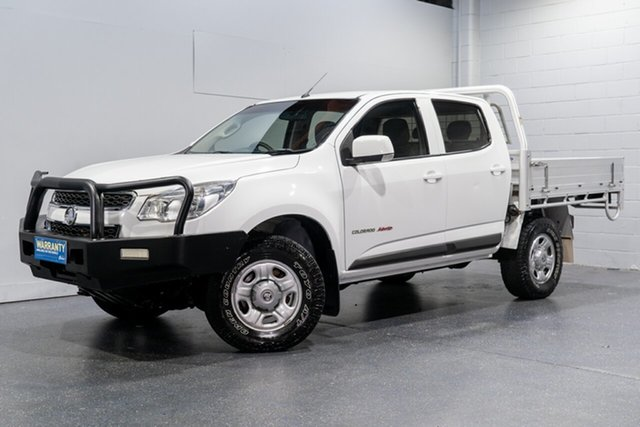 Used Holden Colorado LS (4x4), Slacks Creek, 2015 Holden Colorado LS (4x4) Crew Cab Chassis