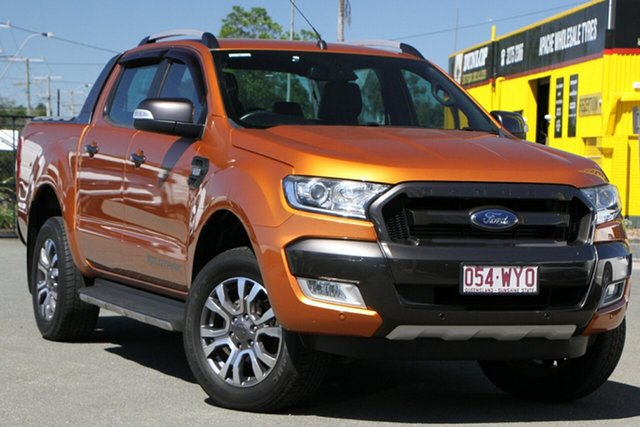 Used Ford Ranger Wildtrak Double Cab, Bowen Hills, 2017 Ford Ranger Wildtrak Double Cab Utility