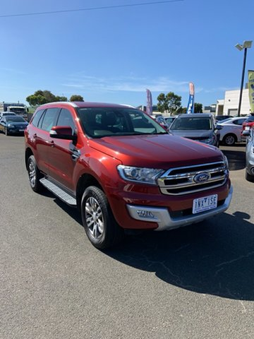 Used Ford Everest Trend, Warrnambool East, 2016 Ford Everest Trend SUV