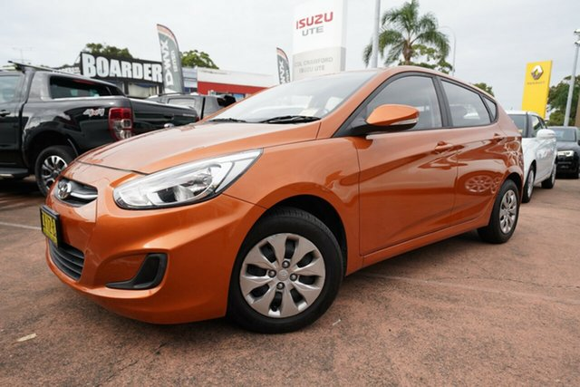 Used Hyundai Accent Active, Brookvale, 2016 Hyundai Accent Active Hatchback