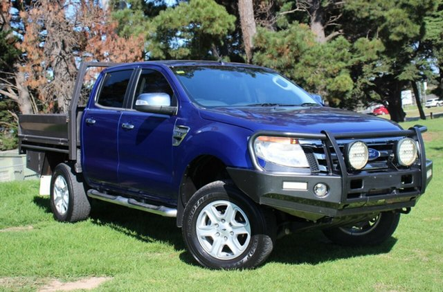 Used Ford Ranger XLT Double Cab, Officer, 2012 Ford Ranger XLT Double Cab Utility