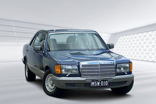 1985 Mercedes-Benz 380 SEL Sedan.