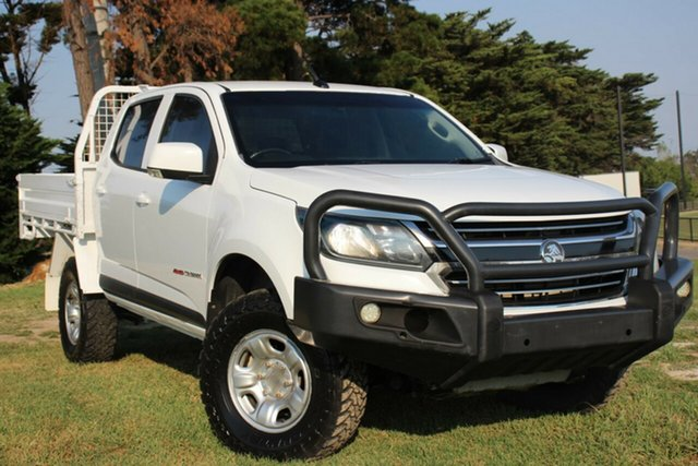 Used Holden Colorado LS Crew Cab, Officer, 2016 Holden Colorado LS Crew Cab Cab Chassis