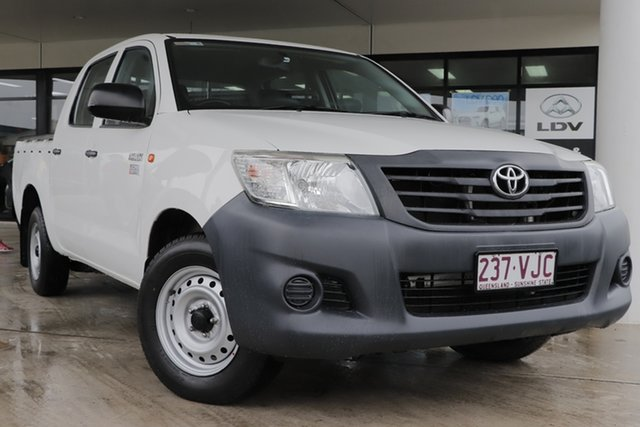 Used Toyota Hilux Workmate Double Cab 4x2, Bowen Hills, 2014 Toyota Hilux Workmate Double Cab 4x2 Utility