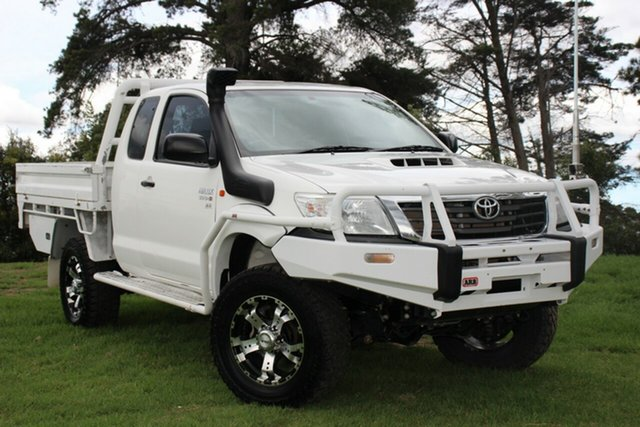 Used Toyota Hilux SR Xtra Cab, Officer, 2014 Toyota Hilux SR Xtra Cab Cab Chassis