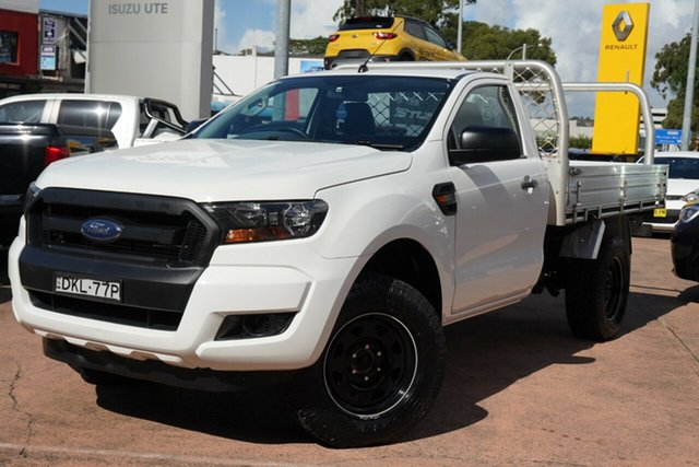 Used Ford Ranger XL 3.2 (4x4), Brookvale, 2016 Ford Ranger XL 3.2 (4x4) Cab Chassis
