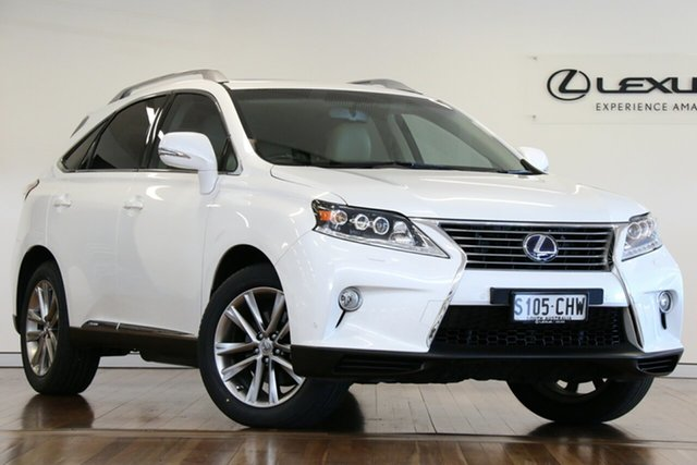 Used Lexus RX RX450h Sports Luxury, Adelaide, 2012 Lexus RX RX450h Sports Luxury Wagon