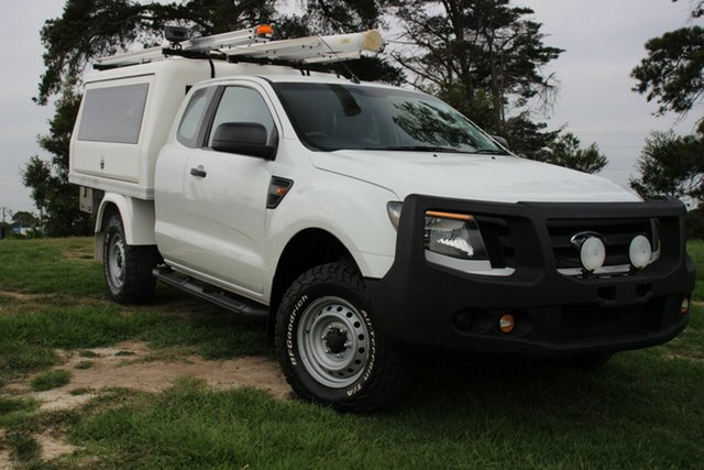 Used Ford Ranger XL Hi-Rider, Officer, 2012 Ford Ranger XL Hi-Rider Cab Chassis