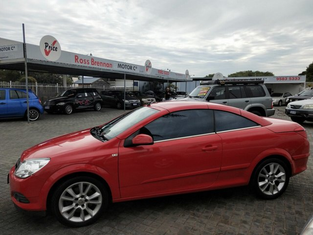 Used Holden Astra Twin TOP, Mandurah, 2008 Holden Astra Twin TOP AH MY08 Convertible