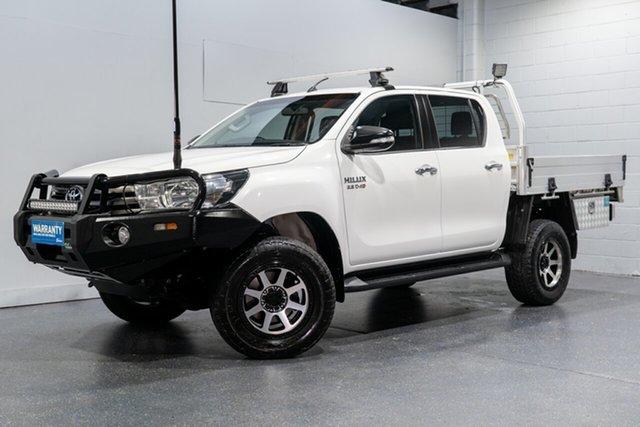 Used Toyota Hilux SR (4x4), Slacks Creek, 2016 Toyota Hilux SR (4x4) Dual Cab Chassis