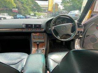 1992 Mercedes-Benz 500 SEL Sedan.
