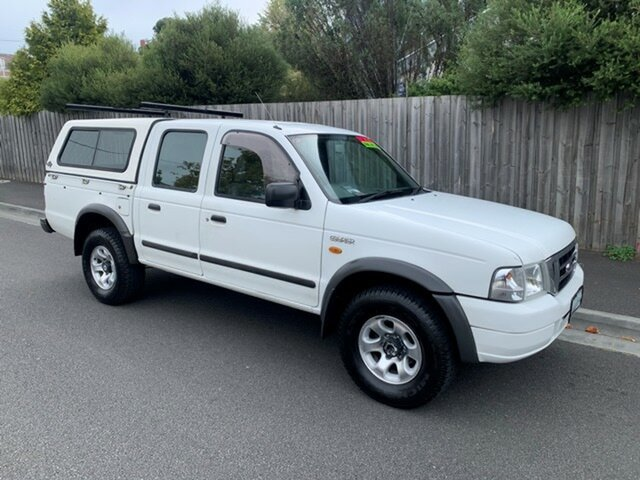 Used Ford Courier XLT (4x4), North Hobart, 2003 Ford Courier XLT (4x4) Crew Cab Pickup