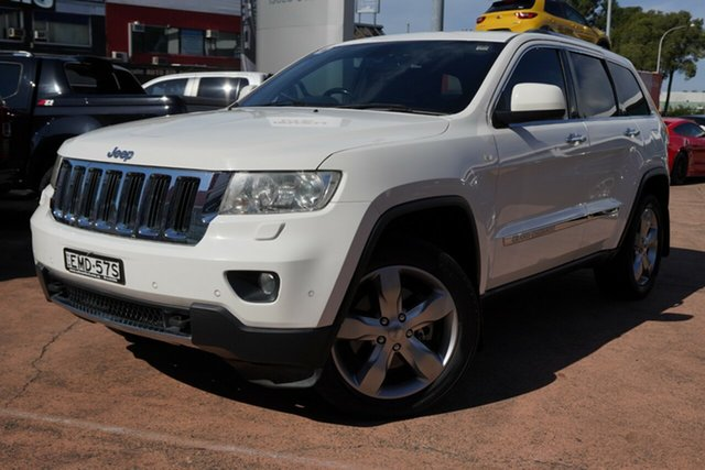 Used Jeep Grand Cherokee Limited (4x4), Brookvale, 2011 Jeep Grand Cherokee Limited (4x4) Wagon