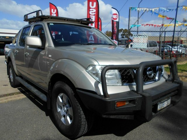 Discounted Used Nissan Navara ST (4x4), Werribee, 2010 Nissan Navara ST (4x4) Dual Cab Pick-up