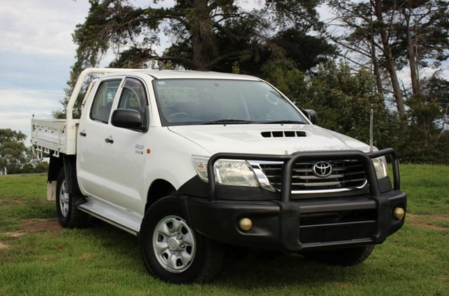 Used Toyota Hilux SR Double Cab, Officer, 2012 Toyota Hilux SR Double Cab Cab Chassis